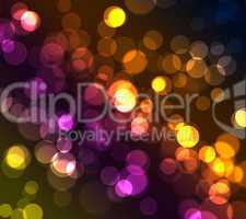 Bokeh light background texture
