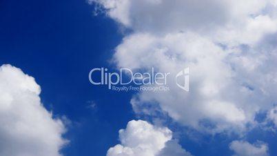 loop of clouds. time lapse HD