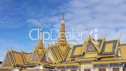 Royal Palace in Phnom Penh, Cambodia, Asia