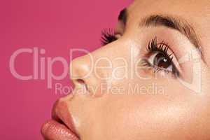 Beauty And Skin Concept Subtle Makeup