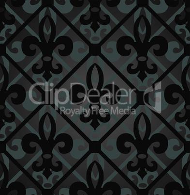 Dark royal pattern.