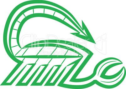 Zodiac sign scorpio logo