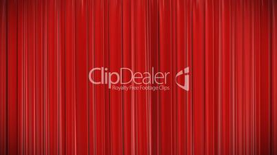 Red curtain, Opening and closing 3d animation, HD, mask.
