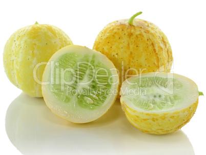 yellow cucumbers