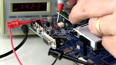 Demo circuit board troubleshoot