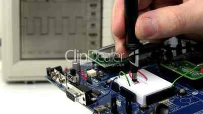 Demo circuit board troubleshoot; 2