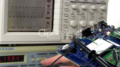 Demo circuit board troubleshoot; 3