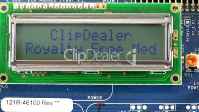 Clipdealer logo scrolling marquee message