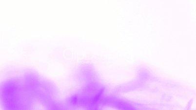 purple smoke like as silk.