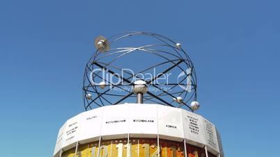 Berlin - World Time Clock at Alexanderplatz
