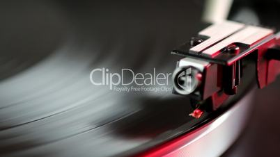 Record Player - Start Up - Red Light