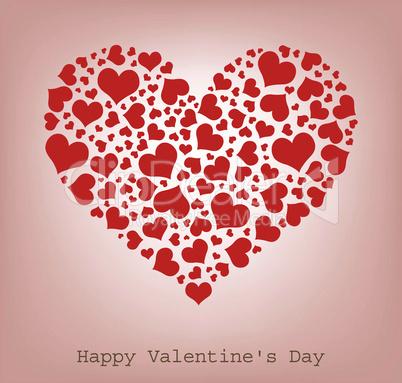 hearts, Happy Valentine's Day