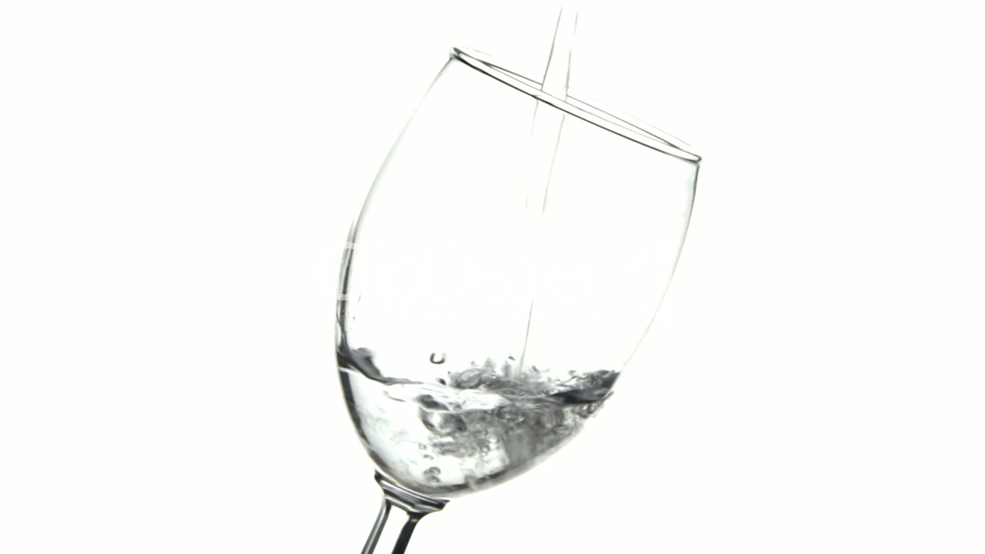 Water Pour In Wine Glass 4 Royalty Free Video And Stock