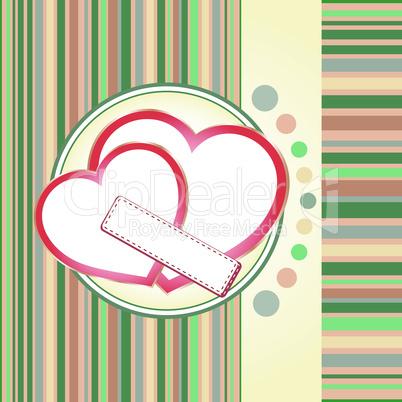 St. Valentine's day texture, wedding love theme. vector