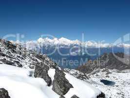 On the way to the Suriya peak, Nepal