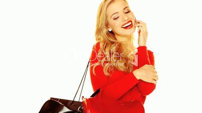 Fashion Portrait Stylish Blonde