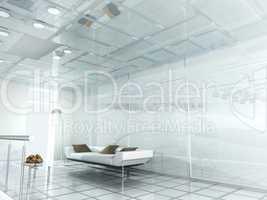 new modern office 3d