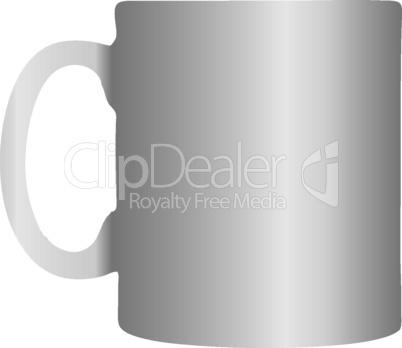 Office white mug