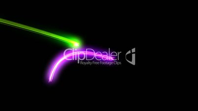 neon glowing lights background