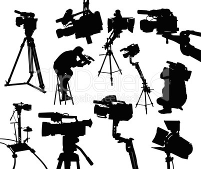 camcorders and cameramen
