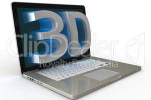 laptop with 3d display