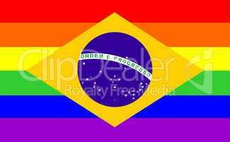 gay flag brazil