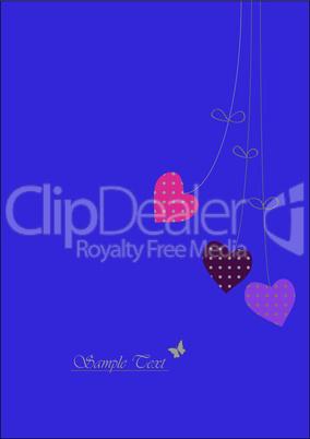 Happy Valentine Card - Valentinstag Karte