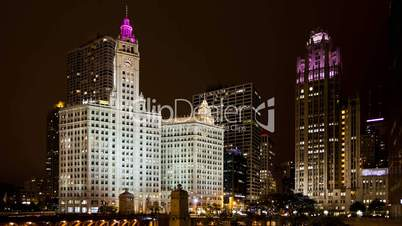 Timelapse Chicago Michigan Ave