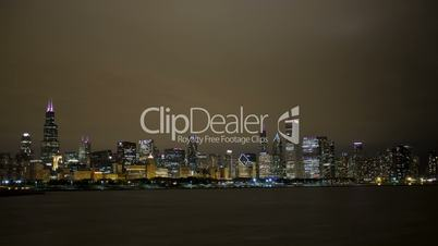 Timelapse Chicago Skyline