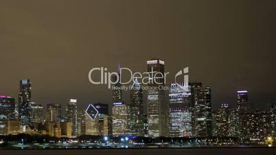Timelapse Chicago Skyline