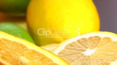 Citrus, cam dolly, closeup