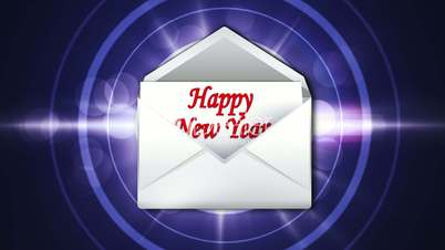 Happy New Year in Letter 1 - HD1080