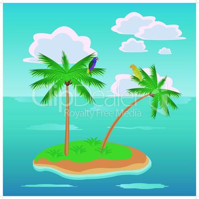 island in ocean.eps