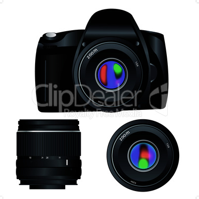 camera and lens.eps