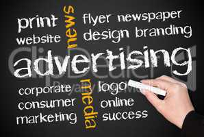Advertising - Media and Marketing Concept