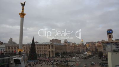 Maidany  in Kiev timelapse