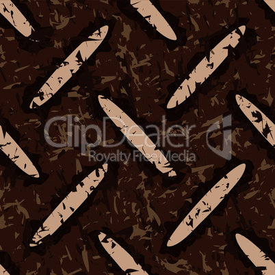 dirty rusty metal floor plate seamless background