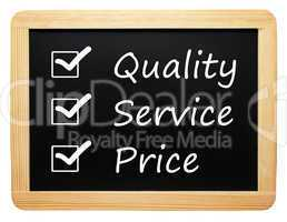 Quality Service Price