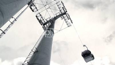 Ski-lift pylon