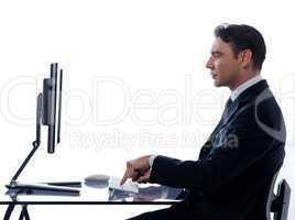 Man business computing