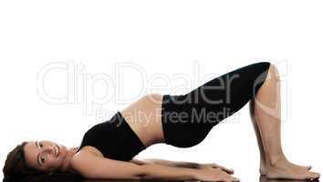 Pregnant Woman workout exercise