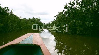 Bootsfahrt auf Amazonas, Peru