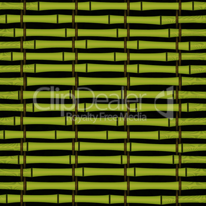 seamless bamboo jalousie mat tying by cord background