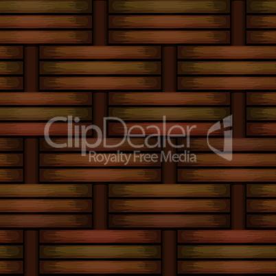 wicker basket weaving pattern, seamless texture background