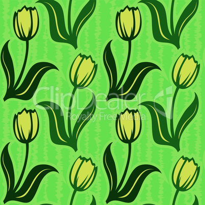 tulip seamless background pattern wallpaper decoration
