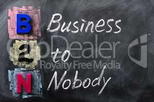Acronym of B2N - Business to Nobody