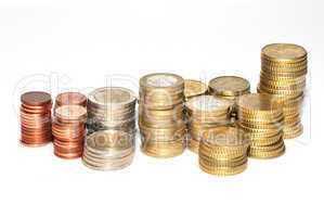 geld gespapelt