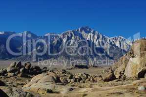 Sierra Nevada and Alabama Hills, California