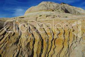 Rock formations near Boulder, Utah