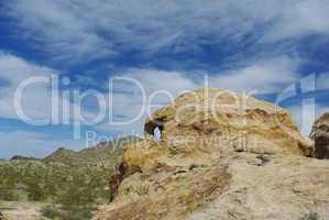 """Nevada """"skull head"""" near Christmas Tree Pass, Laughlin,Nevada"""